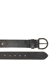 Diesel Vintage Effect Western Leather Belt