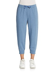Marc By Marc Jacobs Cropped Sweatpants Century Blue