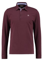 Selected Homme Shxmarco Polo Shirt Fudge Bordeaux
