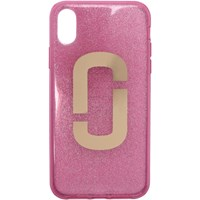 Marc Jacobs Pink Jelly Glitter Snapshot Iphone X Case