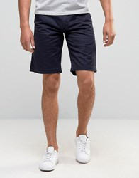 Barbour Newston Twill Chino Shorts In Blue Deep Blue
