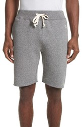 Todd Snyder Men's Drawstring Sweat Shorts Salt And Pepper
