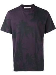 Golden Goose Deluxe Brand T Shirt Pink Purple