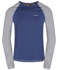Craghoppers Ruston Long Sleeved T Shirt Blue