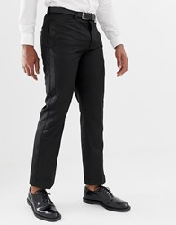 Bellfield Trouser With Contrast Trim In Black