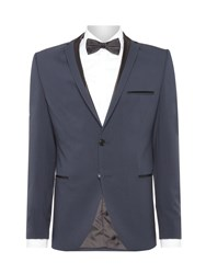 Selected Men's Homme Logan Tuxedo Jacket Midnight Blue