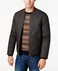 G.H. Bass And Co. Men's Reversible Bomber Jacket Workman Brown