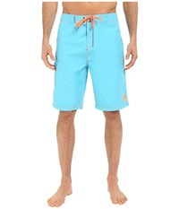 Hurley One Only Boardshort 22 Beta Blue Men's Swimwear Pink