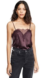 Cami Nyc The Sweetheart Top Aubergine
