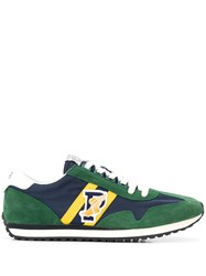 Polo Ralph Lauren Logo Embroidered Colour Block Sneakers 60