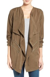 Women's Dex Cascade Front Jacket Military Olive