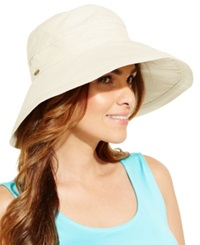 Dorfman Pacific Cotton Big Brim Sun Hat Natural
