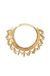 Elizabeth Cole Necklace Metallic Gold