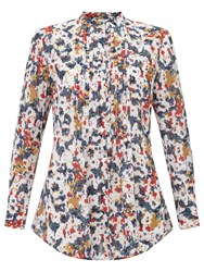 East Penny Floral Shirt Red Multi