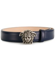 Versace Medusa Buckle Belt Blue