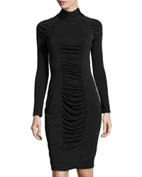 Ds Dress Long Sleeve Turtleneck Dress Black