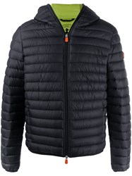 Save The Duck Logo Patch Padded Jacket 60