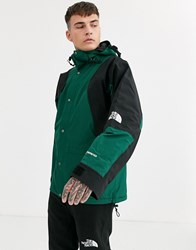 The North Face 94 Retro Mountain Light Gore Tex Jacket In Night Green