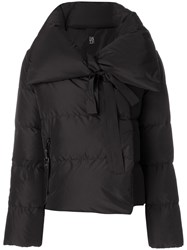 Bacon Cropped Puffer Jacket Black