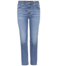 Ag Jeans Isabelle Cropped Blue