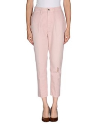 People Casual Pants Pink