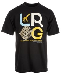 Lrg High Country Graphic Cotton T Shirt Black