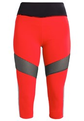 Evenandodd Active 3 4 Sports Trousers Racing Red