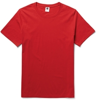 Nn.07 Pima Cotton Jersey T Shirt Red