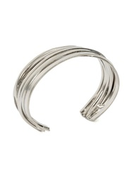 Faith Connexion Stacked Bangle Metallic
