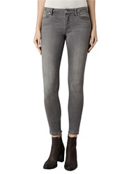 Allsaints Mast Skinny Jeans Washed Grey