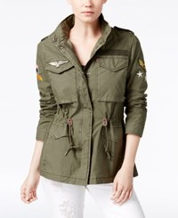 Levi's Patched Utility Jacket Army Green