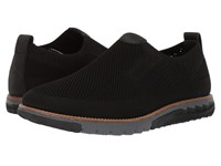 Hush Puppies Expert Mt Slip On Black Knit Nubuck Slip On Shoes