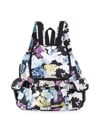 Le Sport Sac Lesportsac Voyager Floral Flap Top Backpack Euphoria