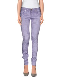 Atelier Fixdesign Trousers Casual Trousers Women Lilac