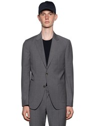 Z Zegna Slim Fit Techmerino Wool Wash'n Go Suit Grey