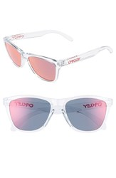 Oakley Women's 'Frogskins' 55Mm Sunglasses Red