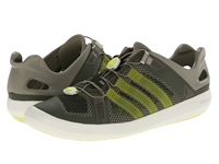 Adidas Outdoor Climacool Boat Breeze Base Green Semi Solar Yellow Chalk White Men's Shoes Olive