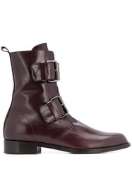 Michel Vivien Emerance Boots Red