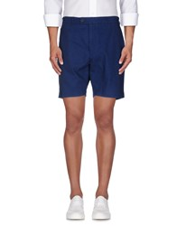 Hentsch Man Trousers Bermuda Shorts Men Blue