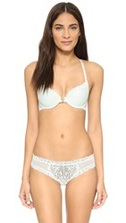 Natori Feathers T Back Bra With Front Clasp Cucumber