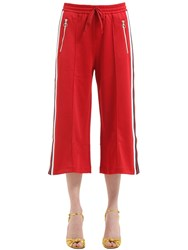 Gucci Cotton Blend Jersey Pants