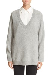 Alexander Wang Women's T By Birdseye Wool And Cashmere Pullover