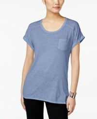Styleandco. Style Co. Burnout T Shirt Only At Macy's Ink