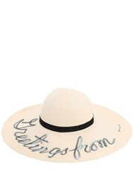 Eugenia Kim Bunny 'Greetings From...' Hat Ivory