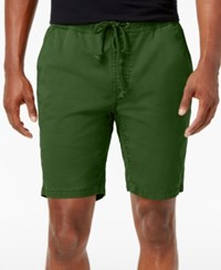 American Rag Men's Classic Fit Stretch Solid Drawstring Shorts Only At Macy's Forest Night
