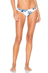 Seafolly Tropic Coast Brazilian Bikini Bottom Blue
