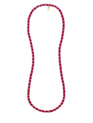 Kilian Rouse Oud Scented Ribbon Chain Necklace .