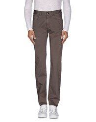 Canali Trousers Casual Trousers Men Dove Grey