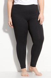 Plus Size Women's Zella 'Live In' Slim Fit Leggings Black