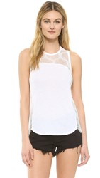 David Lerner Netting Tank Soft White